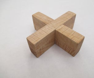 十字锁拼图