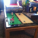 Lego Play Table With Storage From Old Coffee Table and Drawer.