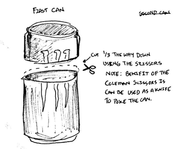 Step 3. Cut the Can
