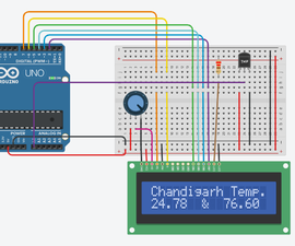 Interfacing LM35 Temperature Sensor With Arduino
