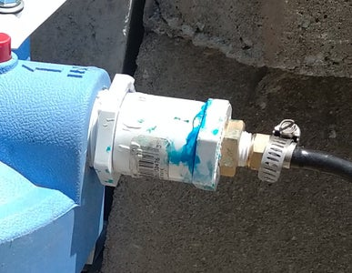 Water Line Connections