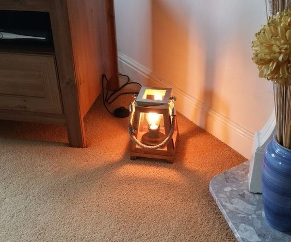 Edison Hurricane Lamp