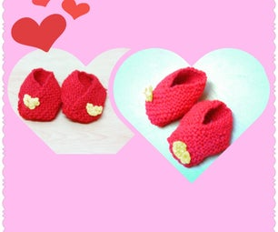 New Born BABY BOOTIES!!!! Quick, Easy and Absolute Beginner Project !!!!