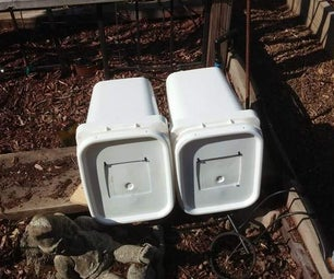 Nest Boxes With Acess Doors From Buckets...
