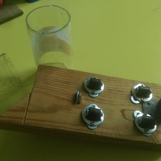 Easy Glass Bottle Cutter Made Up of Common Parts [UPDATED... Again]