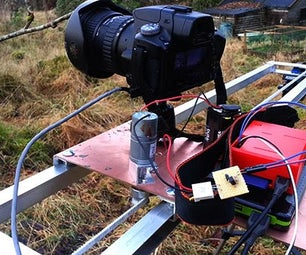 Raspberry Pi Powered Time Lapse Dolly (RasPiLapse)
