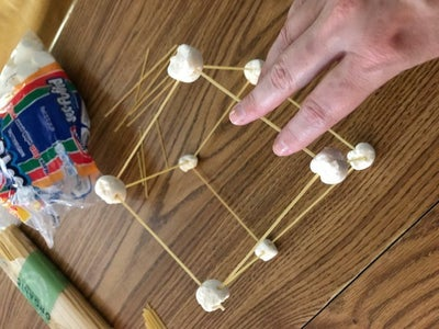 Add More Pasta and Marshmallows to Make a Cube. This Is the Base of Your Structure.