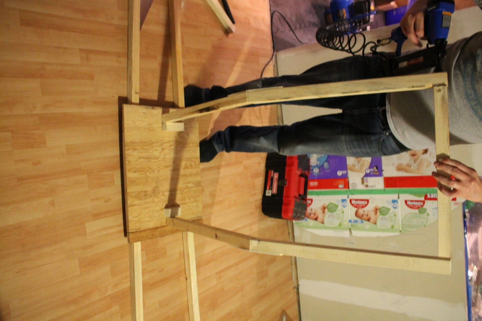 Building the Wood Frame