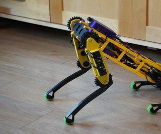 DIY Spot Like Quadruped Robot (building Log V2)