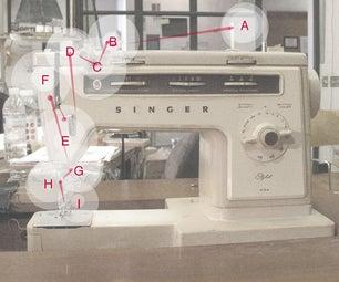 Threading the ITP Singer 534 Stylist