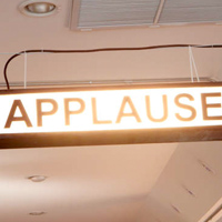 Personal Applause Sign