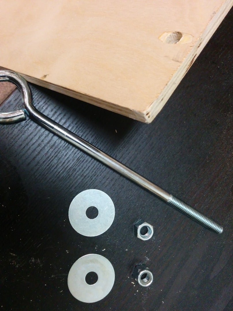 Attach the Hanging Supports to the Board