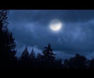 Transform a Cloudy Day Into a Moonlit Night in Photoshop