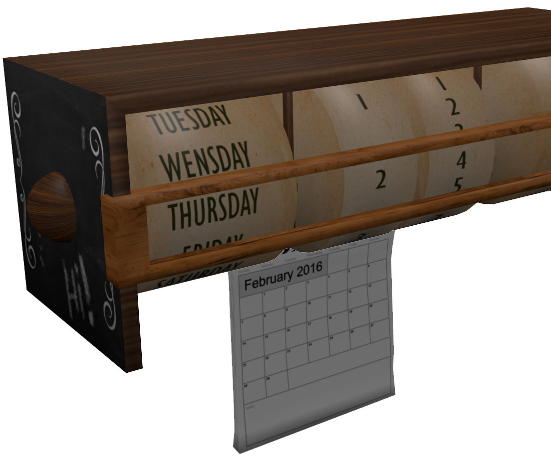 Arduino Calendar