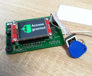 ESP32 Based RFID Reader With Touch Display