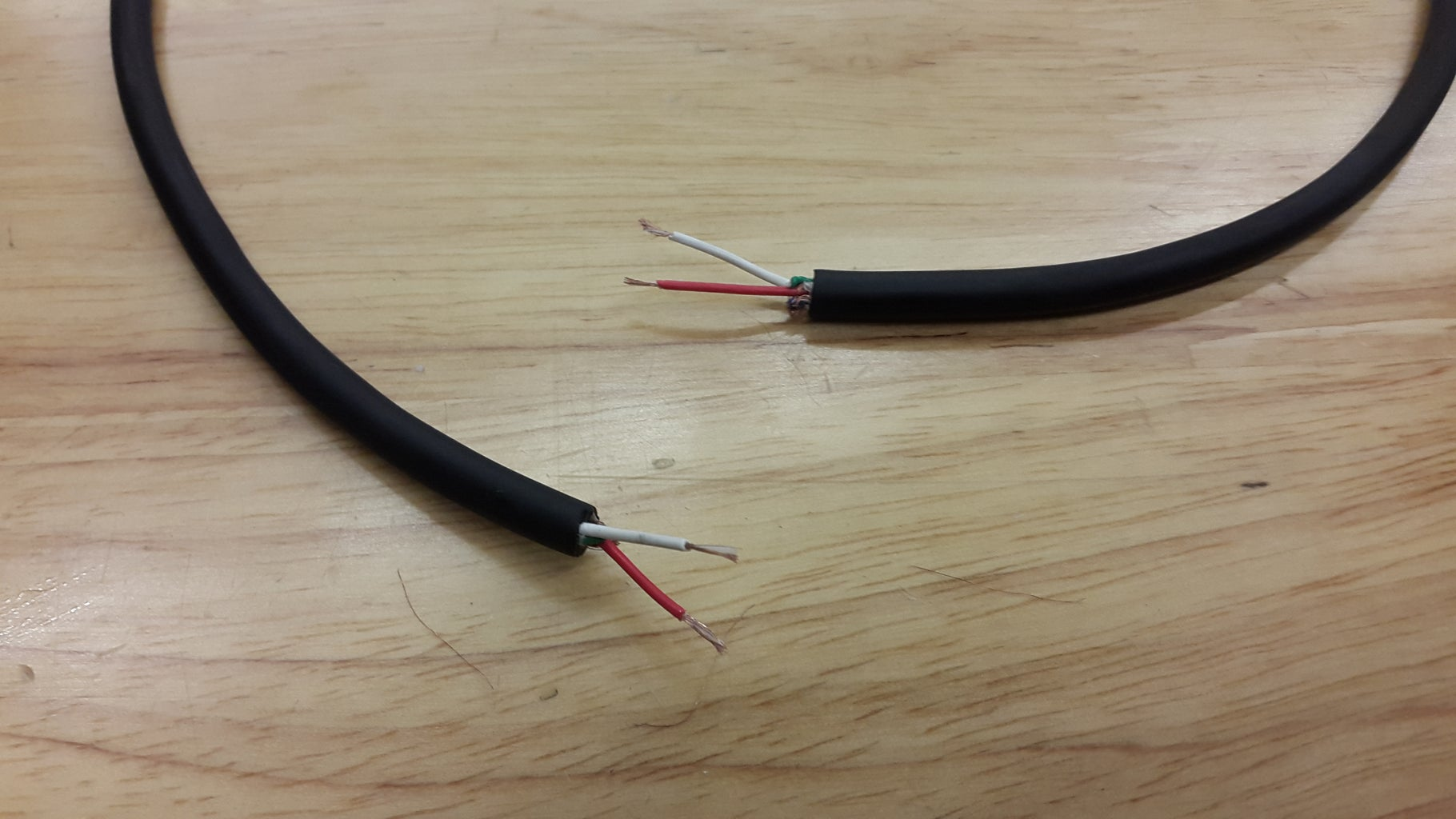 Connect Cable to Motor