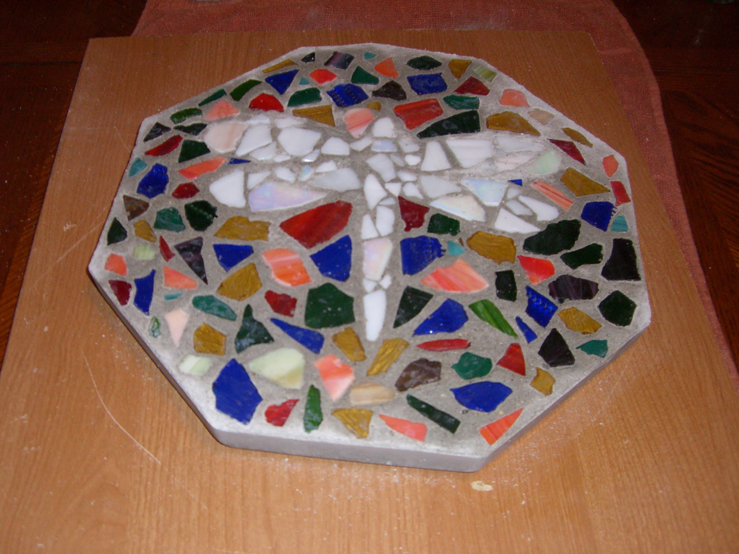 Mosaic Stepping Stones For Your Garden