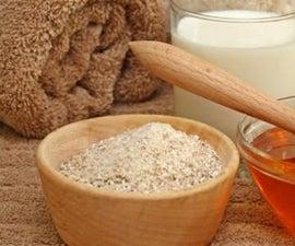 燕麦片和蜂蜜:治疗痤疮