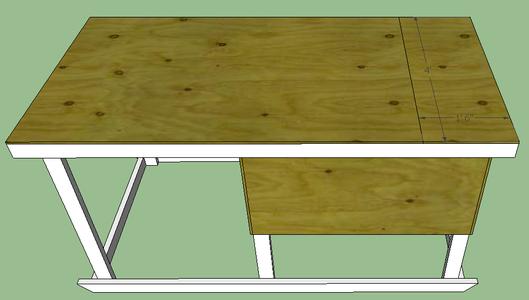 Attach Roof Door Using Hinges