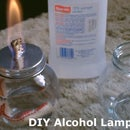 DIY Alcohol Lamp - W/quick (stove Conversion) - Burns Standard Isopropyl (rubbing Alcohol)