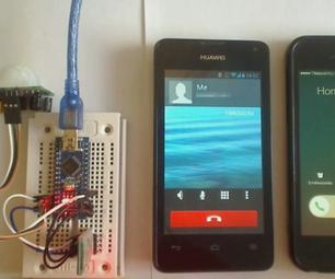 Arduino PIR Motion GSM Alarm