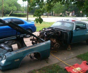 Remove the Front Clip From Your 1979 Camaro