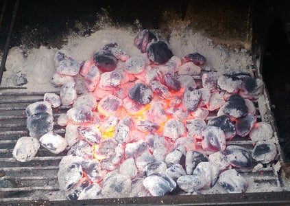Spread Out the Charcoal and Cook!!!