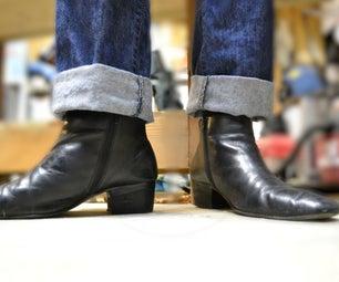 Reheeling Beatle Boots