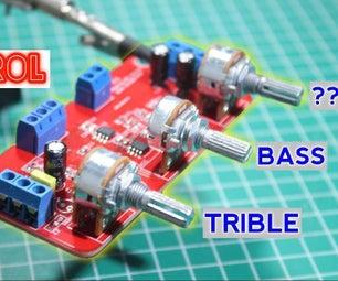 如何为放大器进行音调控制LM358 2.1