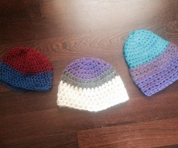 How to Crochet a Simple Yarn Cap
