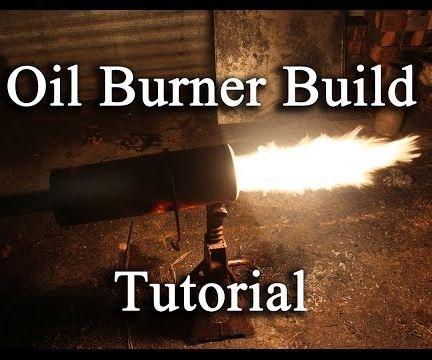 Waste oil burner Construction.