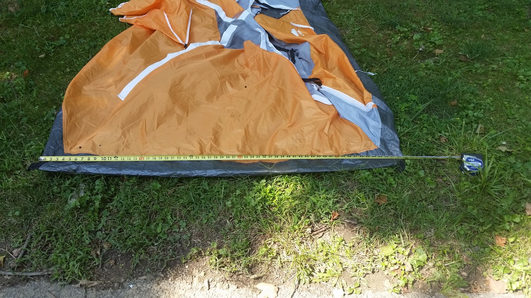 Measure the Tent and Bag