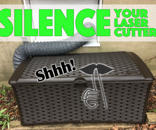 Silence Your Laser Cutter!