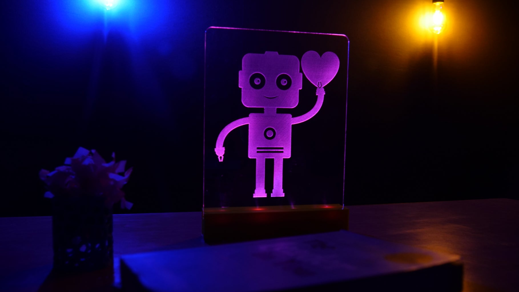 Edge Lit Acrylic LED Sign Using Arduino