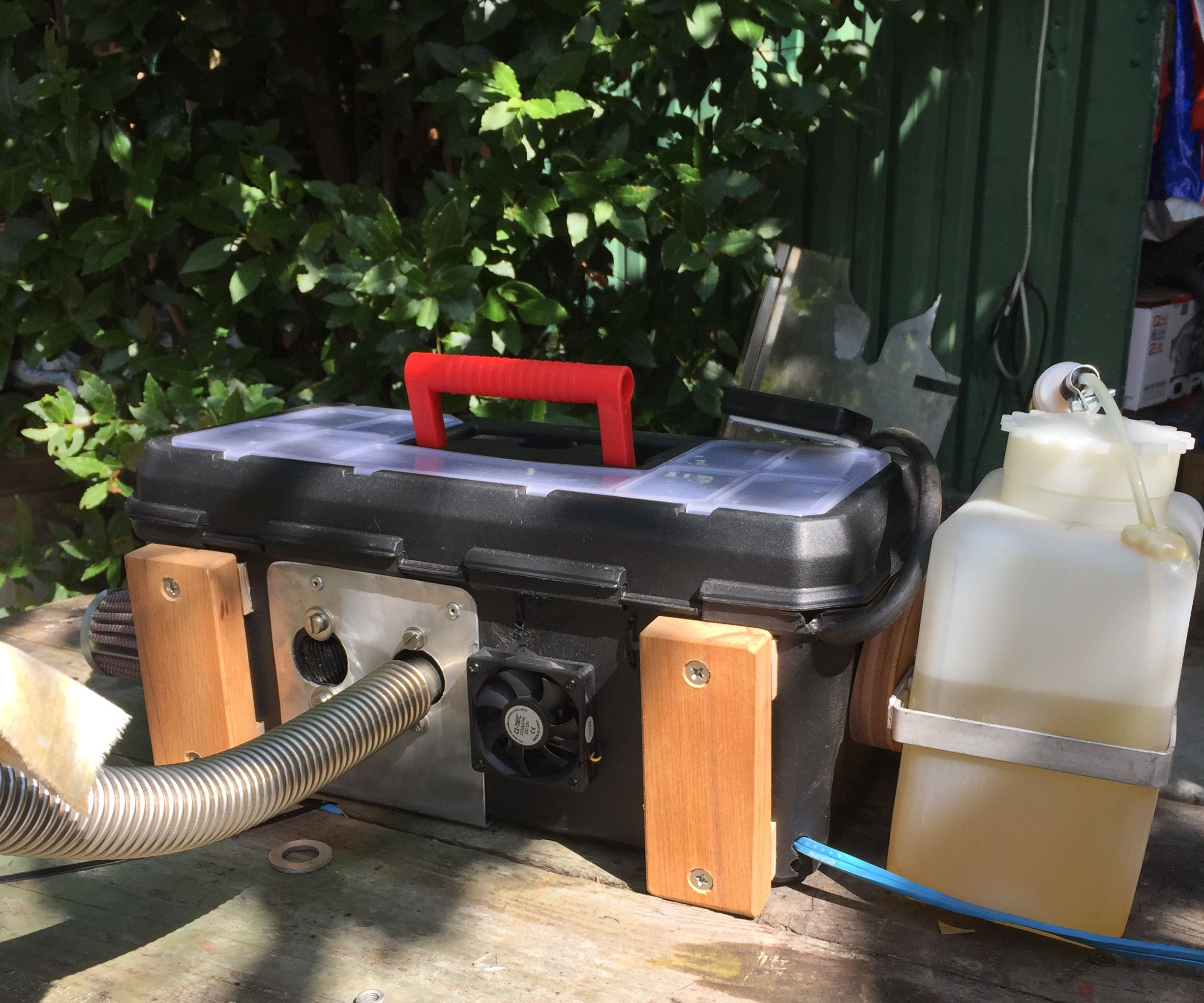 Small Portable Diesel Heater