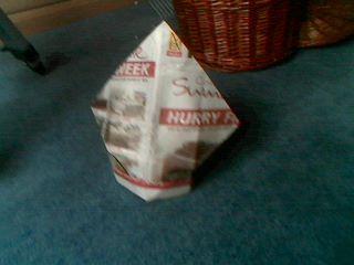 Newspaper Hat(s)!
