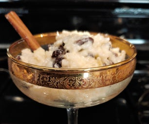 Cinnamon Infused Rice Pudding
