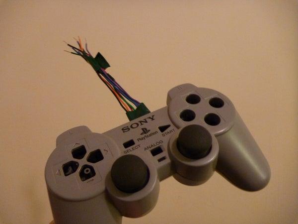 PS1 Controller Joysticks With Arduino