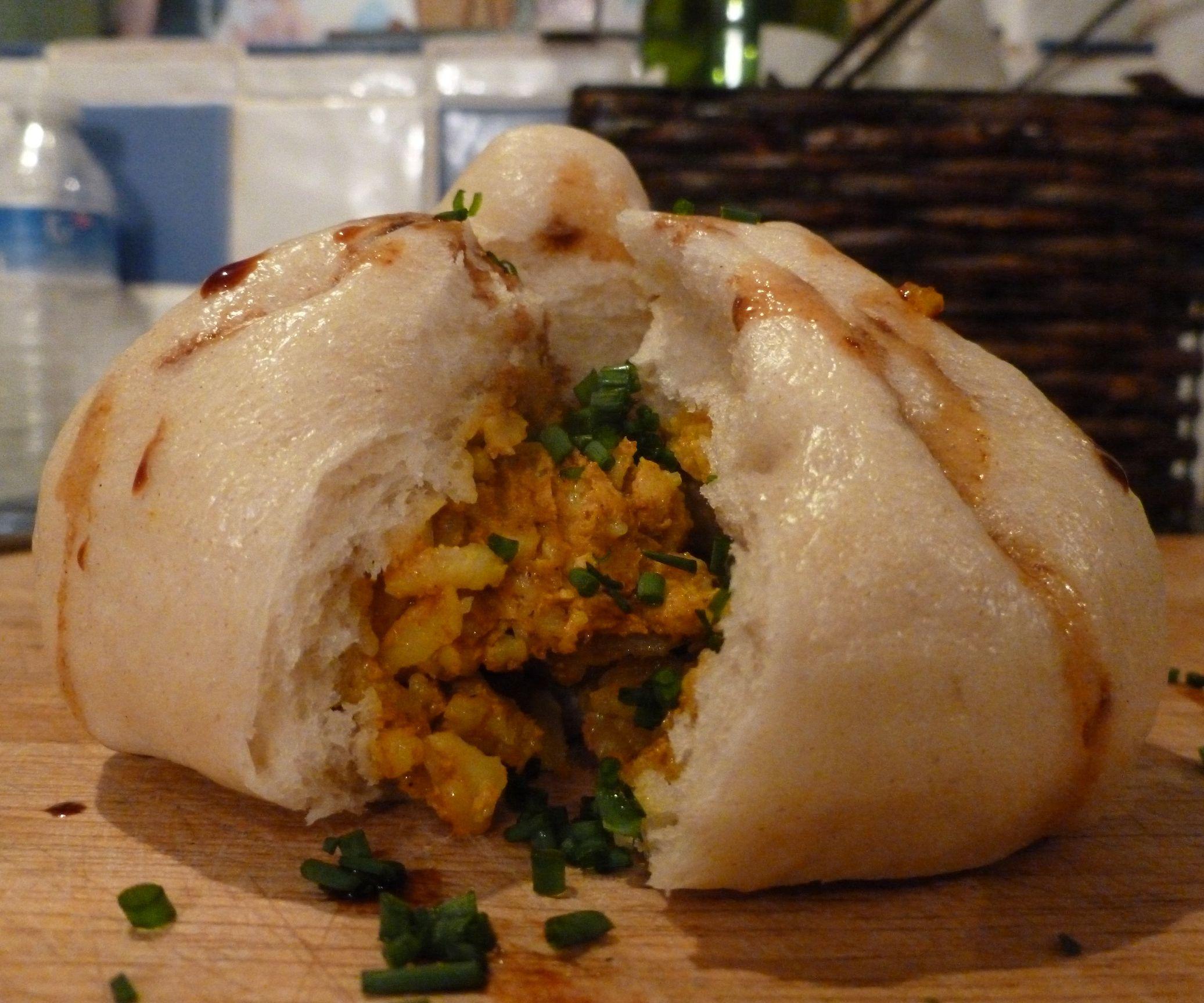 Curried Chicken Baozi