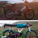 Building a Bike: Custom Honda Hobbit Moped