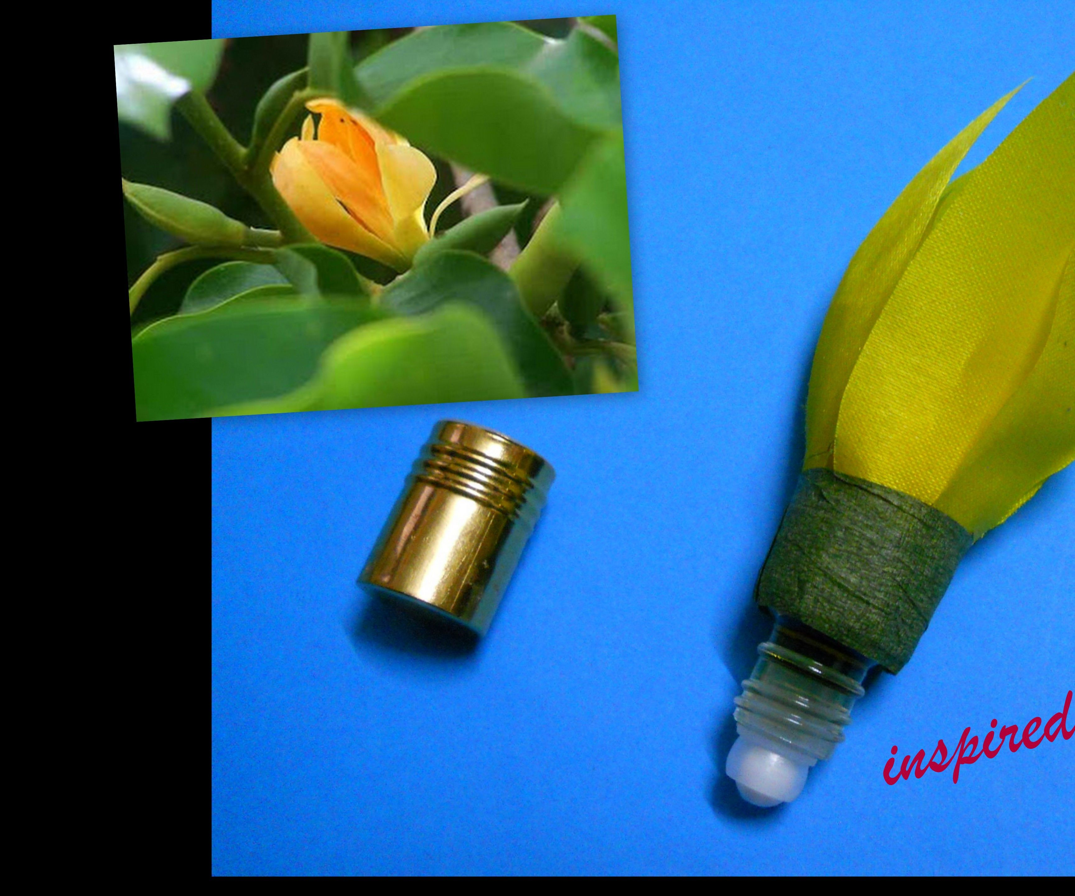 Scented Flower Perfume bottle