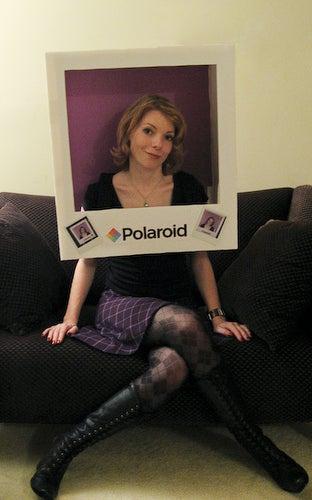 Polaroid Costume