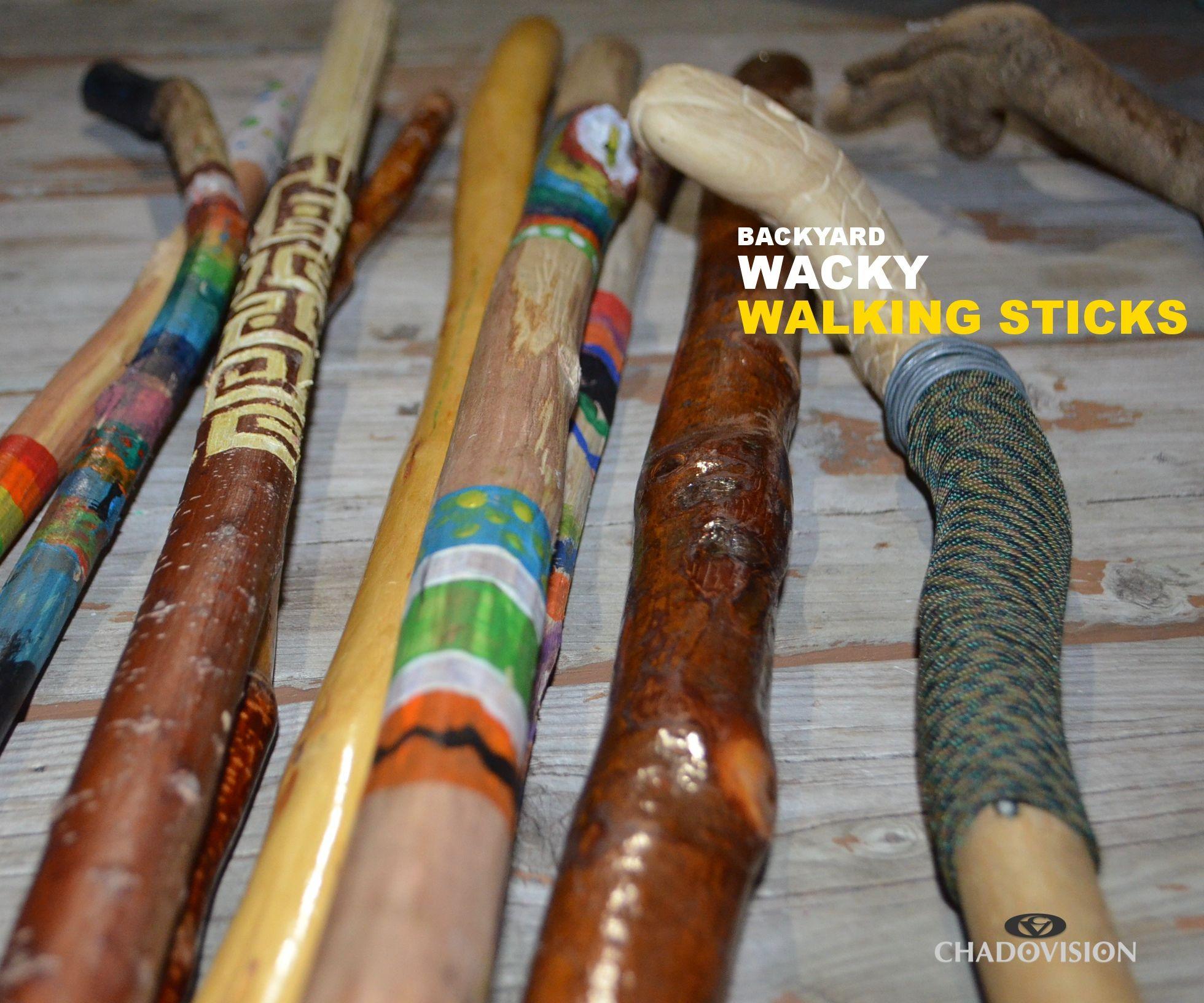 Wacky Walking Sticks