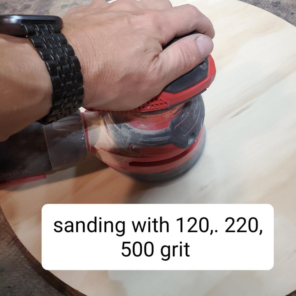 Sanding, Sanding, and More Sanding.