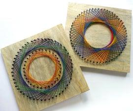 DIY彩虹螺旋串艺术