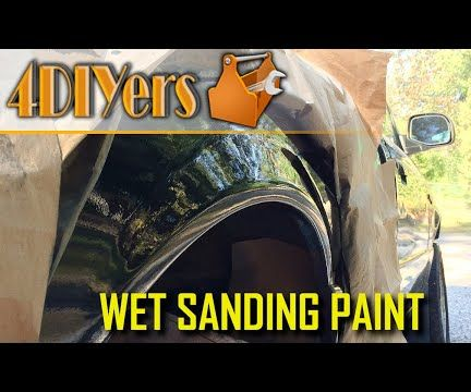 How to Wet Sand and Polish Paint