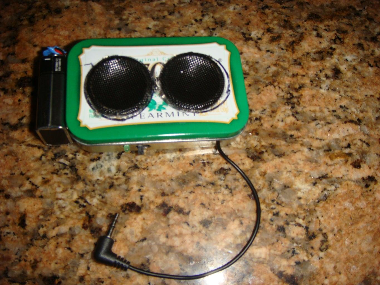 An Altoids Speaker
