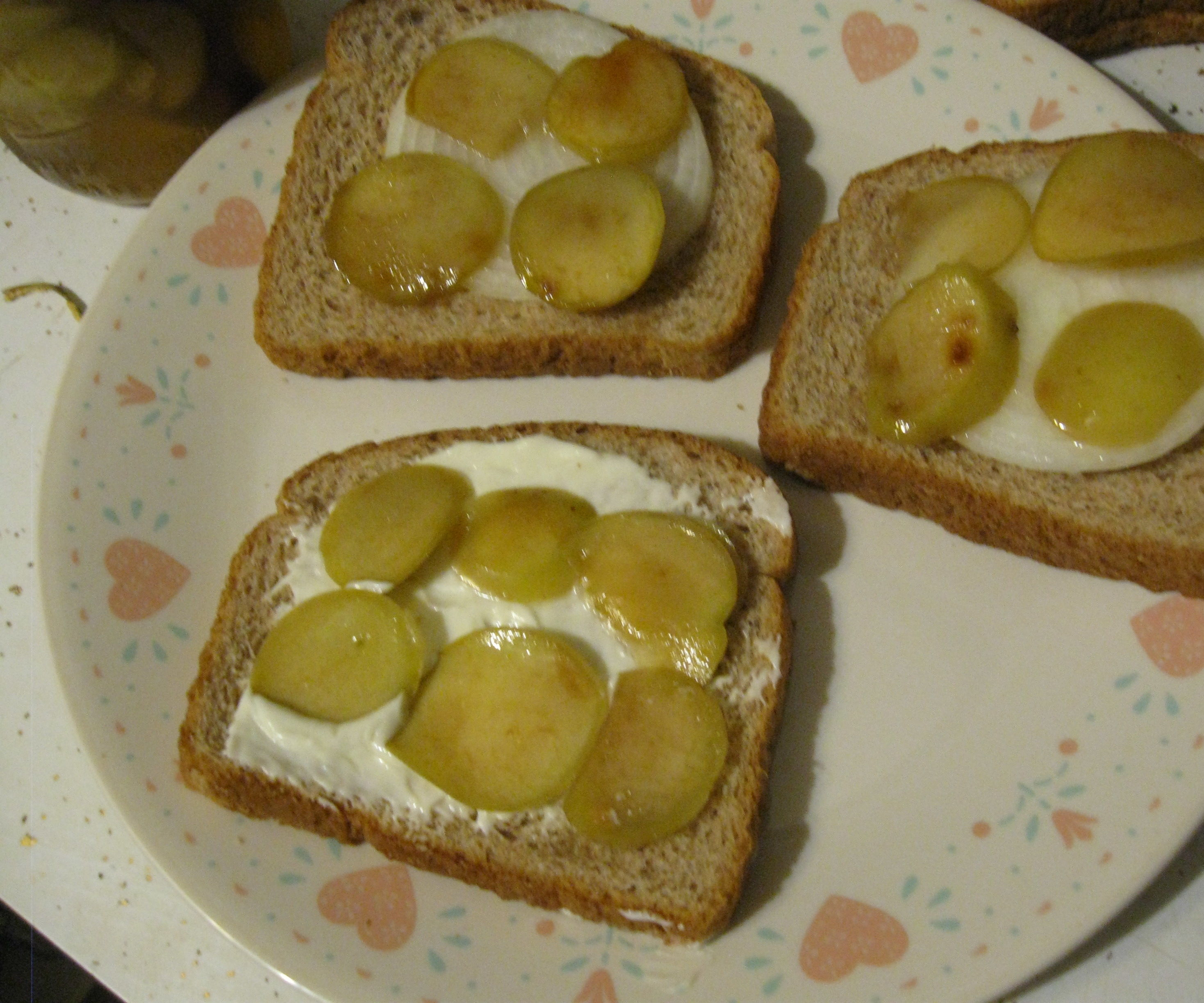 Canned Apple Pickles