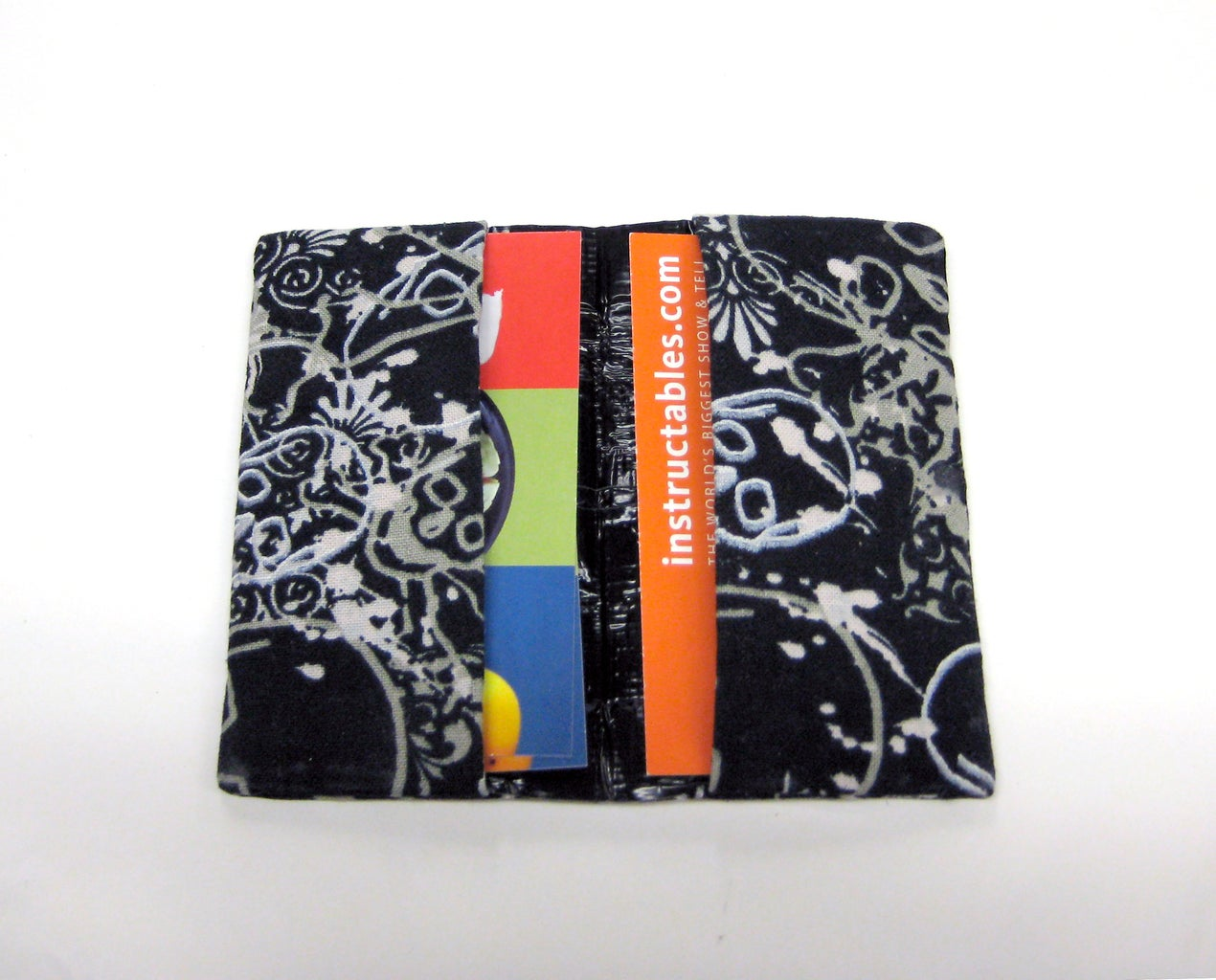 Duct Tape Card Wallet