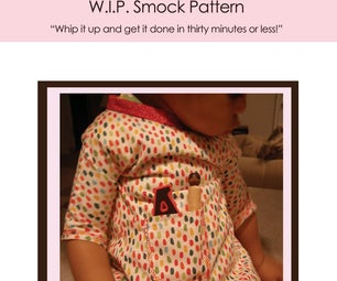 Sew a Quick Toddler Smock!